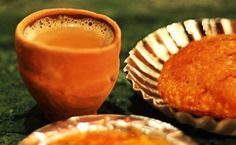Kullad Chai (tea served in a an earthen mud cup), the best tea to be had in the winters of India! Its flavor  captures the richness of earthen aroma!