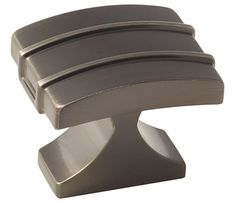 Davenport Knob Shown In Gun Metal. Available In 3 Finishes. Amerock