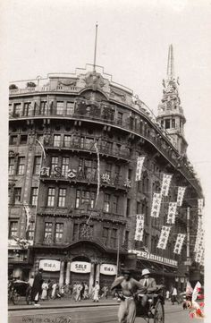 PIN088_Wing On Department Store on Nanking Road in 1920s (上海南京路永安公司 1920s)