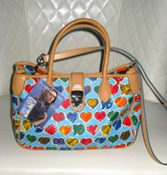 'BNWT Dooney & Bourke Double Handle Tote' is going up for auction at  1pm Sun, Dec 8 with a starting bid of $70.
