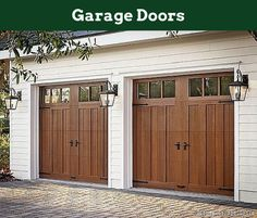 Garage Door Entrance - Garage Door Replacement. #garage, #garagefloor, #mancavegarage. Want to know more about Garage Doors  Click the link for more information... Garage Door Colors, Residential Garage Doors, Building A House