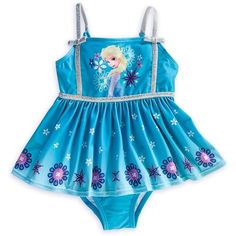 Disney Store Frozen Princess/Queen Elsa Swimsuit Size Small 5/6-5T... ($28) ❤ liked on Polyvore featuring swimwear, one-piece swimsuits, one piece swimsuits, swimsuit swimwear, disney swimsuits, swim costume and disney bathing suits