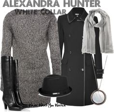 Inspired by character Alexandra Hunter played by Gloria Votsis from White Collar.
