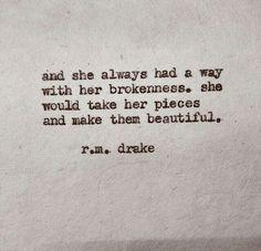 beautiful brokenness