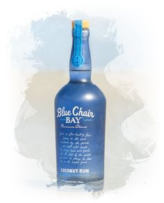 Blue Chair Bay Coconut Rum (VERY GOOD. SWEET LEVEL IS IN BETWEEN THE CANDY OF MALIBU AND STRONGER RUM TASTE OF CRUZAN COCONUT RUM)