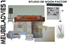 """Van deze opdrachtgever kreeg studio de WOON FACTOR """"carte blanche""""!. Erg leuk om helemaal opnieuw te mogen beginnen en alle meubels uit te zoeken. Voor deze #woonkamer heeft studio de WOON FACTOR een aantal meubelstukken ontworpen die door een vakkundig #meubelmaker op maat zijn gemaakt. www.studiodewoonfactor.nl"""