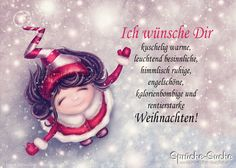 Weihnachtskarte – Was ich Dir alles wünsche… More beautiful sayings and cards for Christmas: www. Christmas Cards, Merry Christmas, Diy Crafts To Do, Xmax, Pinterest Blog, Label Design, Presents, Winter, Messages