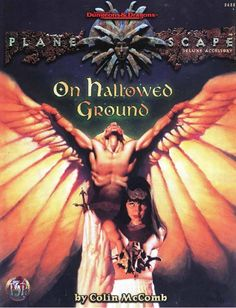 On Hallowed Ground (2e) - Planescape | Book cover and interior art for Advanced Dungeons and Dragons 2.0 - Advanced Dungeons & Dragons, D&D, DND, AD&D, ADND, 2nd Edition, 2nd Ed., 2.0, 2E, OSRIC, OSR, d20, fantasy, Roleplaying Game, Role Playing Game, RPG, Wizards of the Coast, WotC, TSR Inc. | Create your own roleplaying game books w/ RPG Bard: www.rpgbard.com | Not Trusty Sword art: click artwork for source
