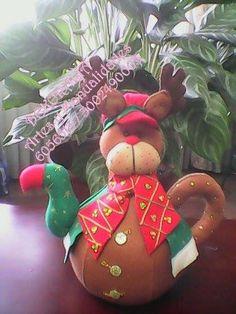 Christmas Crafts, Xmas, Christmas Ornaments, Reno, Decoupage, Kitty, Halloween, Holiday Decor, Manta Polar