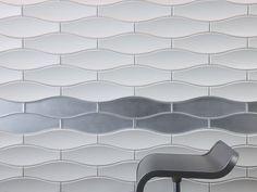 Glide | Profile Materials | Design Studio | 3form Spa Interior Design, Spa Design, Tile Design, Interior Design Inspiration, Cool Patterns, Textures Patterns, Architectural Pattern, Contract Design, Tile Wallpaper