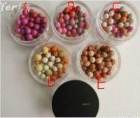20pcs / lot el maquillaje mineral de alta calidad rubor en polvo polvo suelto Profesional bola colorete de color 5 diff
