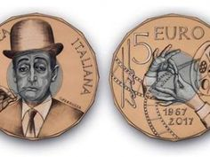 La moneta celebrativa dedicata a Totò