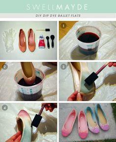 Tuto how to make Fairy kei shoes <3