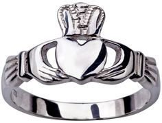 Jamie gives Rob a Claddagh Ring for their anniversary.