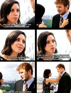 April and Andy are relationship goals.