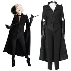 Emma Stone, Cosplay Wigs, Cosplay Costumes, Halloween Costumes, 101 Dalmatians Cruella, Cruella Costume, Cruella Deville, Celebrity Outfits, Celebrity Clothing