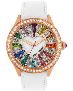 RAINBOW CRYSTAL FACE WATCH