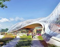 video googles new california headquarters is a greenhouse utopia by big and heatherwick inhabitat big heatherwick futuristic google hq