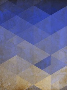 ABSTRACT TRIANGULE BLUE