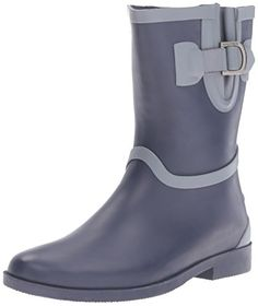 Nautica Womens Stringer Rain Boot Peacoat 6 M US ** Find out more about the great product at the image link.(This is an Amazon affiliate link and I receive a commission for the sales)