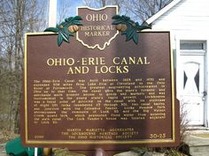 Franklin County / 30-25 Ohio-Erie Canal and Locks | Remarkable Ohio