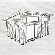 Attefallshus Baseco Fjällnäs funkisstuga med loft 25 m2 Divider, Loft, Cabinet, Storage, Furniture, Home Decor, Clothes Stand, Purse Storage, Decoration Home