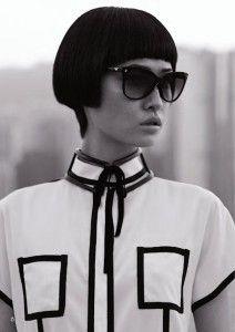 Emporio Armani eyewear campaign 2012