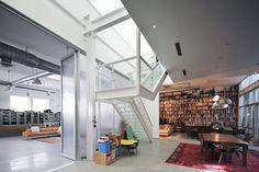 Brooklyn Artist Loft, Staircase, New York, 2011, BWArchitects