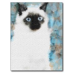 Siamese Post Cards