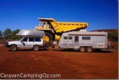 Mine Dump Truck, Tom Price, Western Australia | CaravanCampingOz.com