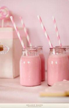 Strawberry milk! My favorite!