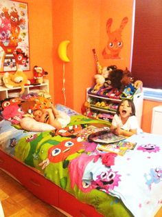 Moshi Monster Room!/// WOHH talk about big obssesion with Moshi Monsters!!!///