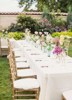 Inspired by This Mint, Blush, & Gold Backyard Wedding | Inspired by This Blog