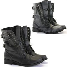 Women's Kali Winner Combat Boots | Combat boots, Boots and Design