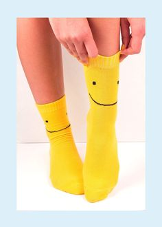 Happy Days  $11CAD #socks #socklove #shopokiedokie Happy Day, Socks, This Or That Questions, Cotton, Inspiration, Shopping, Biblical Inspiration, Ankle Socks, Sock