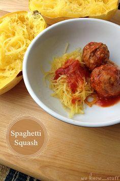 We Know Stuff   Spaghetti Squash   www.weknowstuff.us.com