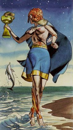 Page of Cups - Initiatory Tarot of the Golden Dawn by Giordano Berti, Patrizio Evangelisti