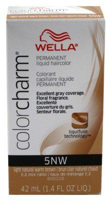 Wella Color Charm Liquid -5Nw Light Natural Warm Brown (6 Pack) ** Visit the image link more details.