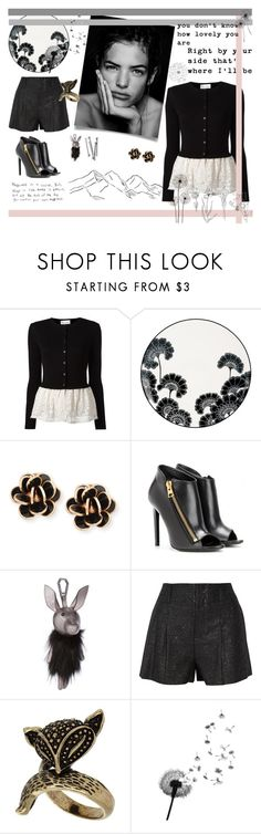 """""""Happiness is a choice"""" by alongcametwiggy ❤ liked on Polyvore featuring RED Valentino, Kate Spade, Chantecler, Tom Ford, Sloane, BOBBY, Alice + Olivia and Pennyblack"""
