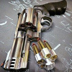 Smith & Wesson Model 500 in S&W Mag barrel) Weapons Guns, Guns And Ammo, Smith & Wesson, Hand Cannon, Custom Guns, Rifles, Cool Guns, Tactical Gear, Tactical Survival