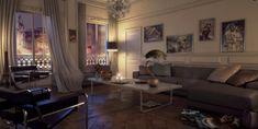 14 modern ideas for living room furnishings that relax the senses