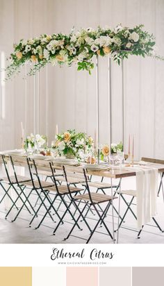 12 Stunning Color Palettes for a Spring Wedding - Chic Vintage Brides : Chic Vintage Brides Wedding Titles, Wedding Sets, Wedding Shoot, Chic Wedding, Elegant Wedding, Wedding Details, Wedding Blog, Wedding Table Decorations, Wedding Table Settings