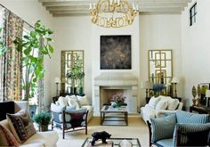 Living Room - Photography by Erica George Dines, courtesy of Suzanne Kasler: Timeless Style, Rizzoli Living Room Decor, Living Spaces, Living Rooms, Family Rooms, Kitchen Living, Apartment Living, Elegant Living Room, Dream Decor, Inspired Homes