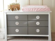 DIY - Paint drawers and different color than frame