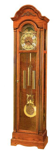 Hartford Yorkshire Oak Grandfather Clock by Howard Miller