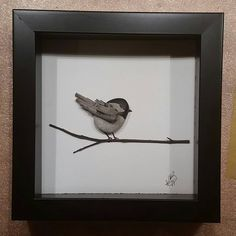 My new favourite #storiesinstone #stones #driftwood #driftwoodart #art #canadianart #ontario #georgianbluffs #decor #beautiful #cottagedecor #quietmoments #birds #wood #chickadee #georgianbay #giftideas #everyonehasastory