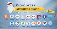 Buy WordPress Automatic Plugin by ValvePress on CodeCanyon. Wordpress Automatic Plugin posts from almost any website to WordPress automatically. It can import from popular site. Software, Popular Sites, Sites Like Youtube, Blogger Tips, Blogger Templates, Premium Wordpress Themes, Wordpress Plugins, Free, Amazon Products