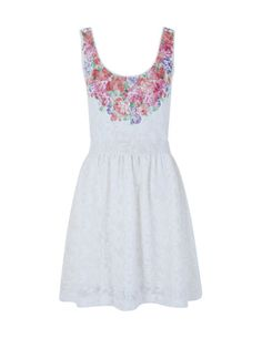 Combined lace tricot dress  Ref:922400901  €18.19 (345K)