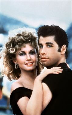 John Travolta - Grease, Olivia Newton John, sex symbol of the 80's, music, dancing, personalities, love, beautiful people, never forget Grease