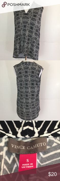 Vince Camuto Sleeveless Top Size Small GUC